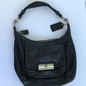 Coach Black Leather Purse